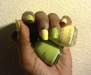 nails polished