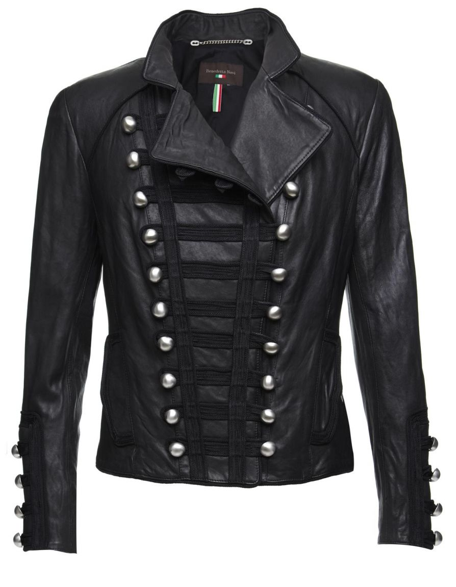 military-leather-jacket