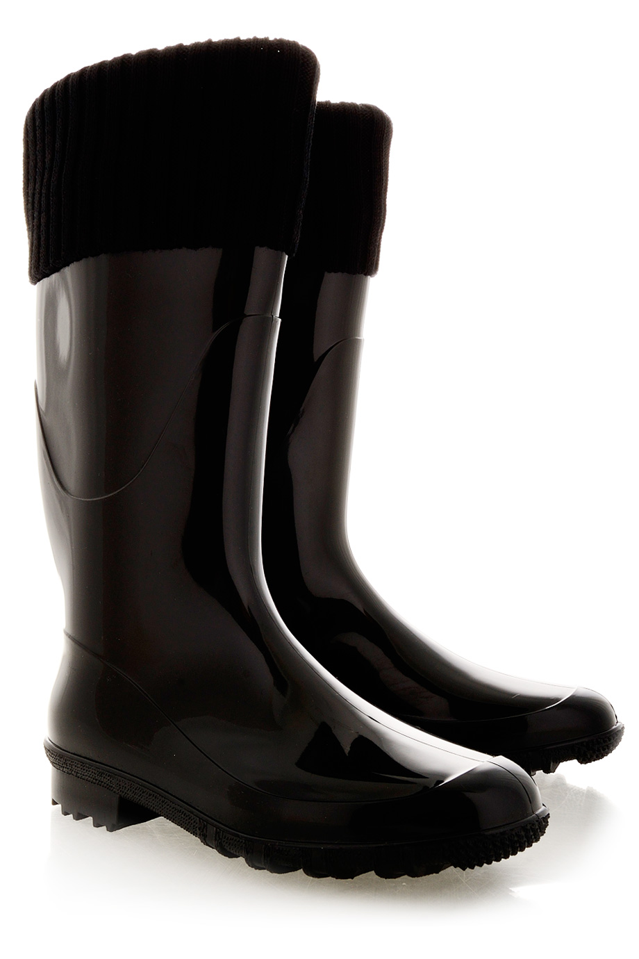 Repel The Rain In Style With Alaska Black Rain BootsBrown Beauty Babe