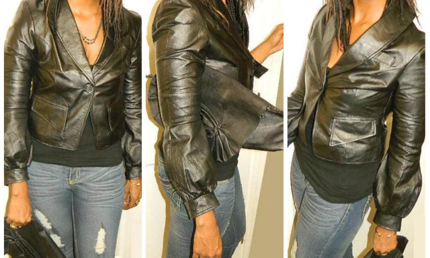 Leather and nude